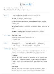 basic resume template –    free samples  examples  format    sample basic resume template in different format
