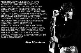 Best 21 important quotes by jim morrison pic English via Relatably.com