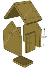 ideas about Bird House Plans on Pinterest   Birdhouses    How to build a Birdhouse     my kids are always asking if