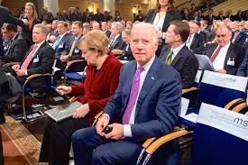 Merkel and Biden at the Munich