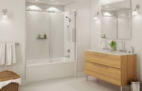 sliding bathroom mirror: decorating bathroom with bathtub sliding door also bathroom mirrors above bathroom sink cabinets