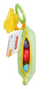 цена <b>игрушки Mattel Fisher-Price</b> Погремушка мягкая Горошек в ...