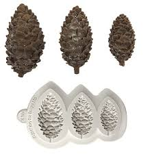 pinecone cake mould silicone soap candle diy baking sugarcraft chocolate silicone mold