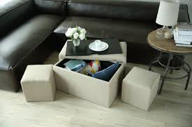 Creative Living 5 Piece Multi Functional <b>Storage Bench Set</b> ...