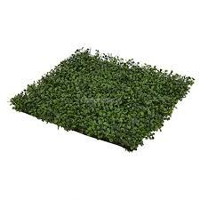 <b>Панно декоративное</b> из полиэтилена Листва 50 x 50 см, зеленое ...