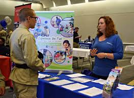 challenge hosts career fair parent mentor workshops as cadets the virginia commonwealth challenge youth academy hosted a career fair feb 19 2016