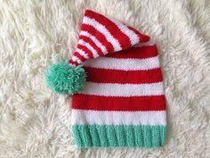 <b>Новогодняя</b> шапочка -<b>колпак</b> спицами. Christmas hat gnome ...
