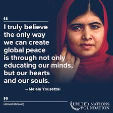 9 Inspiring Malala Quotes | United Nations Foundation via Relatably.com