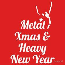'<b>Heavy metal Christmas New</b> Year' Essential T-Shirt by playloud ...
