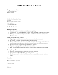 letter format spacing best template collection cover letter format examples