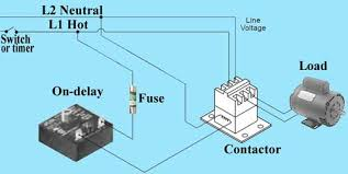 wiring diagram for time delay relay the wiring diagram how to wire dayton off delay timer wiring diagram