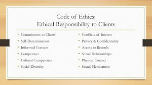 ethics values standards and practices for the social work 3 code