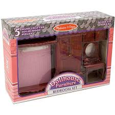 melissa doug classic victorian wooden and upholstered dollhouse bedroom furniture 5 barbie doll house furniture sets
