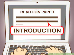 how to write a reaction paper with pictures   wikihow image titled write a reaction paper step