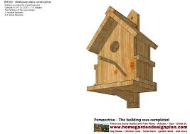 home garden plans  BH   Bird House Plans Construction   Bird    BH   Bird House Plans Construction   Bird House Design   How To Build A Bird House     Units  Inches   fractions