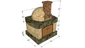 pizza oven plans howtospecialist how to build step by pizza oven plans