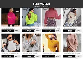 <b>Simenual Knitwear</b> Turtleneck Autumn Winter <b>Sweaters</b> Women ...