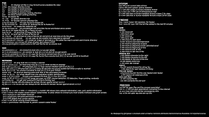 linux interview questions and answers in pdf cheatsheet linux cheat sheet