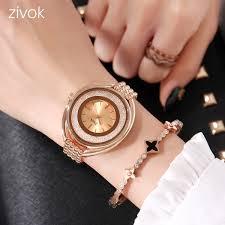 Top Brand MEGIR'S Sub Brand <b>ZIVOK Luxury Women</b> Bracelet ...
