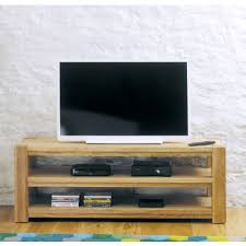 baumhaus aston oak widescreen open television cabinet cvr09a baumhaus aston oak coffee table