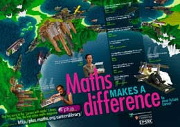 careers maths a set of three posters from plus plus maths org as well as the most obvious mathematical careers there are many other interesting career paths that involve studying mathematics or a related subject and