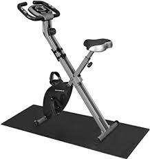 SONGMICS <b>Exercise Bike</b>, Fitness <b>Bicycle</b>, <b>Foldable</b> Indoor Trainer ...