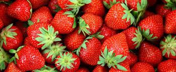 Znalezione obrazy dla zapytania truskawki kalorie