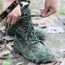 <b>Spring Autumn Military Tactical</b> Men Boots Camouflage Waterproof ...