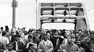 Image result for selma to montgomery march pettus bridge 1965