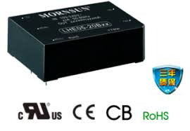 Cost-effective compact size AC/DC converters LDE/LHE series with ...