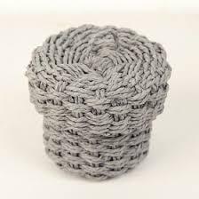 "Корзина для хранения плетеный с крышкой <b>13х13х10 см</b> ""Лардж ..."