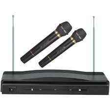 Supersonic SC-900 Professional <b>Dual Wireless Microphone System</b> ...