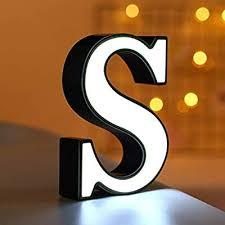 LEEDY Light Letters <b>26 English Letter</b> Light LED Shape Decorative ...