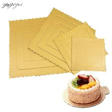 <b>10pcs</b> Practical <b>Round</b> Square Bakeware Cake Cardboards Durable ...