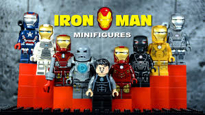 lego iron man mark 1 suit of armor knockoff minifigures set 3 marvel superheroes youtube bootleg iron man 2 starring