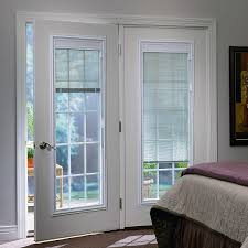 patio doors with blinds between the glass: odl triple glazed enclosed blinds with grilles between glass