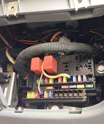 motorhome facts view topic ignition switch wiring diagram i use these to fit the fuse box bus rail and then an inline fuse holder