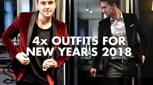 4 Outfit's for <b>New</b> Years Eve <b>2018</b> - <b>Mens</b> fashion and lifestyle ...