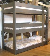 white furniture cool bunk beds: furniture wooden flooring gray bunk bed and playhouse modern excerpt cool boy kid room decor