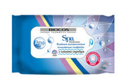 <b>Салфетки антибактериальные</b> для рук - <b>Влажные салфетки Biocos</b>