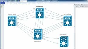 automatically laying out visio network topology diagrams and    automatically laying out visio network topology diagrams and spacing and adjusting connectors   youtube