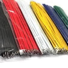 24 AWG 10cm Copper Tinned Hook Up Wire Kit <b>300pcs</b>=<b>6</b> Colour <b>x</b> ...