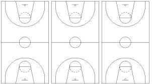 best photos of basketball coaches court diagrams printable    basketball court diagram