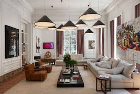 best modern living room designs: high ceiling living room lighting ideas