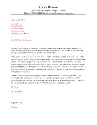 customer service cover letter example how does a cover letter look like