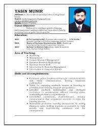resume format for teachers job samples of resumes doc694926 sample resume format for jobs resume tips examples po0