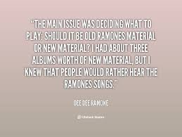 Ramones Quotes. QuotesGram