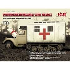 1/35th Real Model German Steyer 1500A Ambulance conversion ...