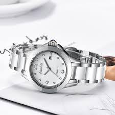 2019 New <b>SUNKTA Fashion Women Watches</b> Silver Ladies ...