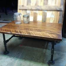 like this item black iron pipe table